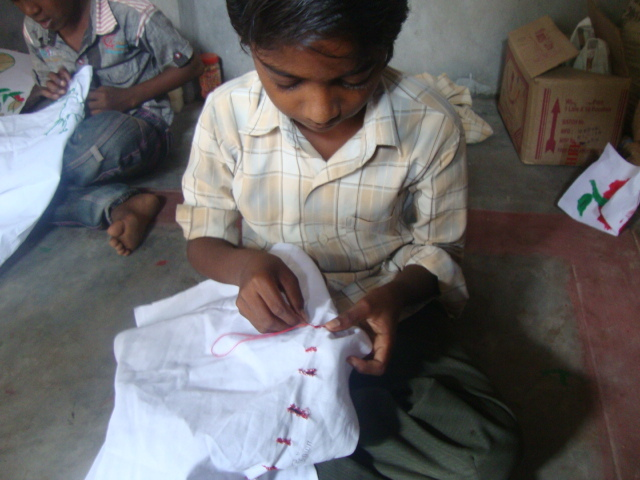 Surya learning to stitch