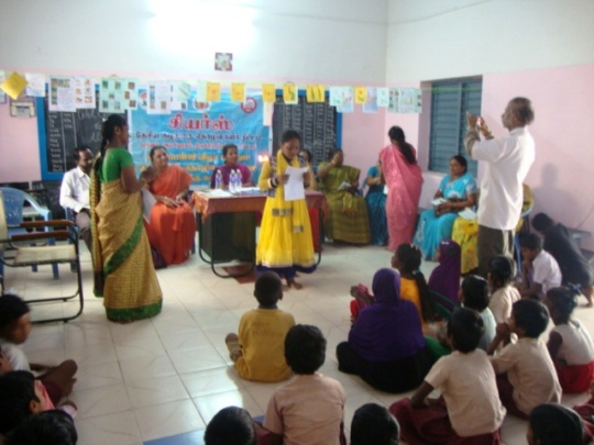A student from our special school performing
