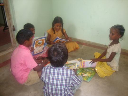 Maheswari in her group