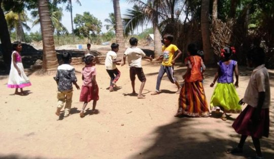 Play time for children in the special school