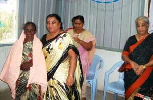 Trichy special school teacher honoured