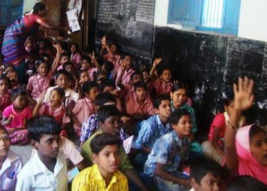 Children in the awareness programme