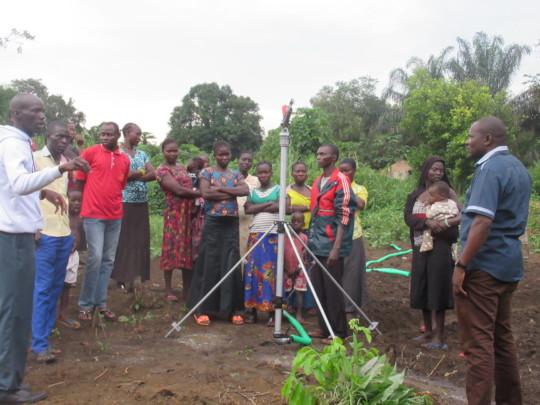 CSD Women Farmers orientation on irrigation