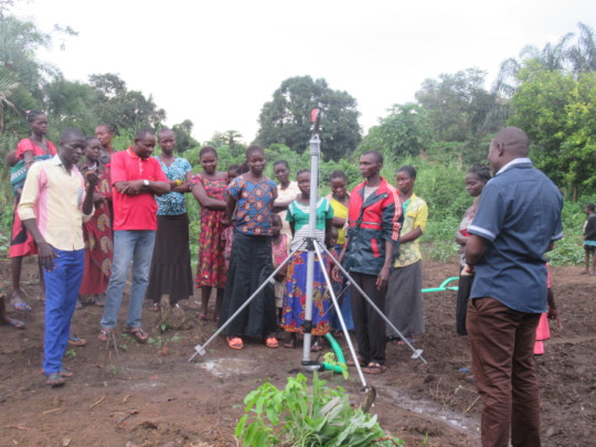 Irrigation lessons offered to women farmers