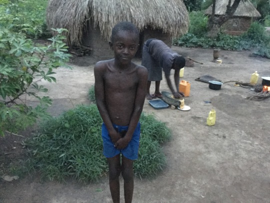 This child belongs to a single mother with us