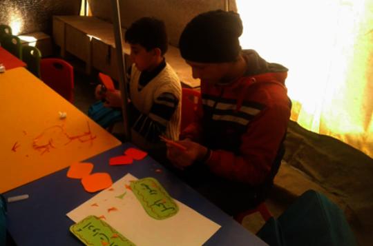 UNICEF/ Syria 2019/ Alaa Kansapa Obeid Camp
