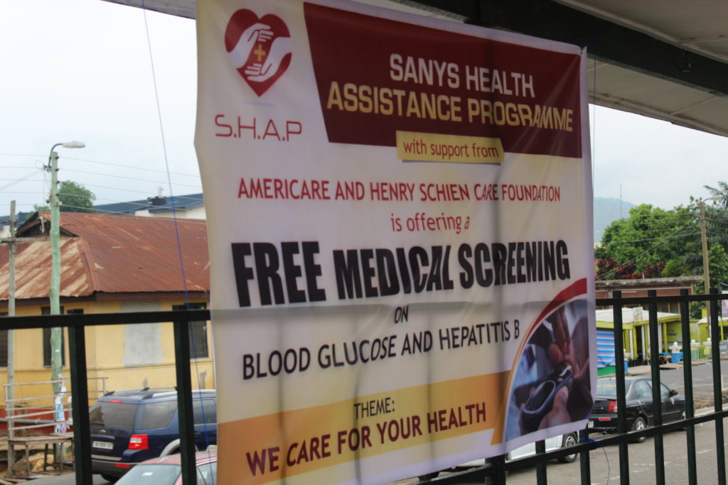 Free Health screening and school supply giveaway