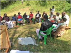 Group discussion on Mt. Elgon