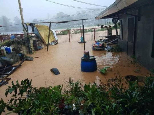 The flooding of Mangkhut