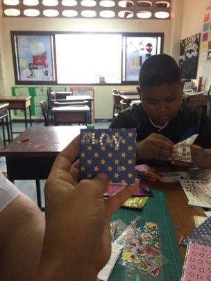 Making mini books in Coconut Art Club