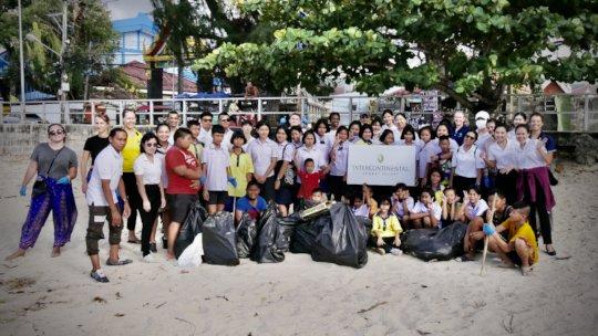 Beach Clean Up with InterContinental Phuket Resort