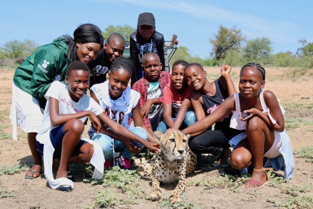 Educate African Children about the environment