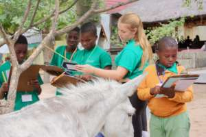 Children at the Bush school