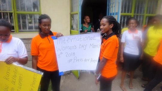 Advocacy Against Child Marriage to 900 Kenya Girls