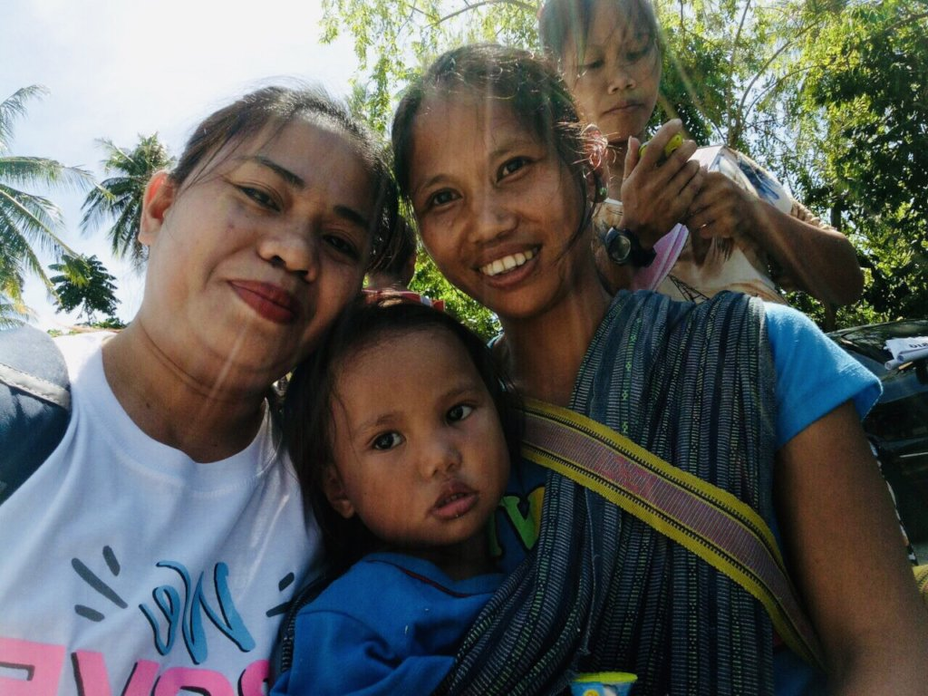 Mangyan mother and child