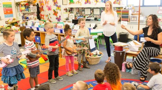 Making music fun for little ones!