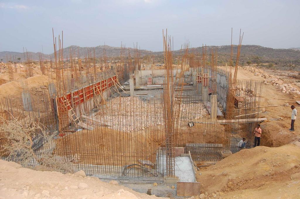 Kitchen Construction at Nathdwara, Rajasthan