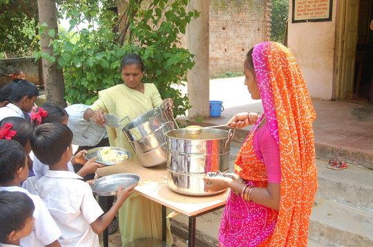 Provide School Meals to Children in India