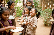 Feed 50,000 school children a daily meal in India
