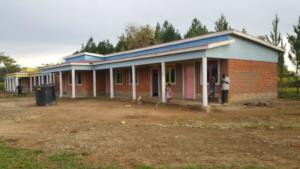 Agape school under construction