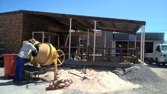 Building of our Critical Horse Care Unit