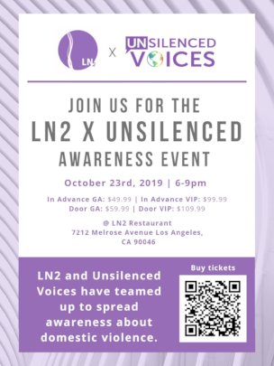 LN2 and Unsilenced Voices Event on Oct. 23
