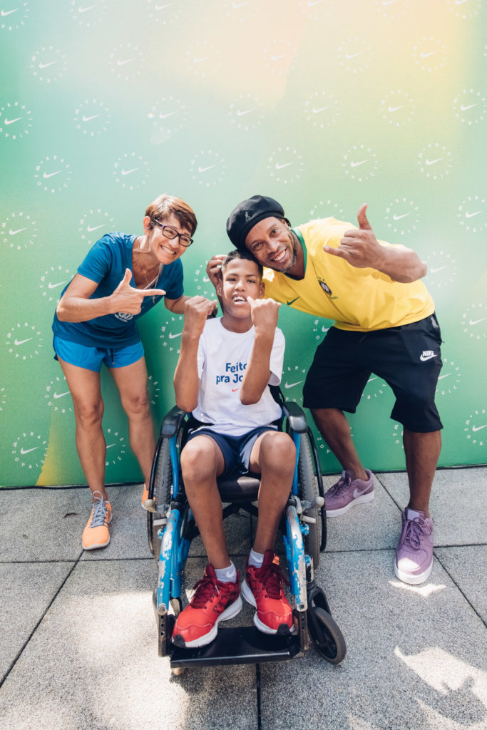 Help a kid to practice sport with a new wheelchair
