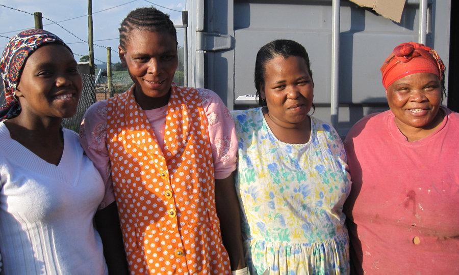 Empower Rural Women & Build Skills, South Africa