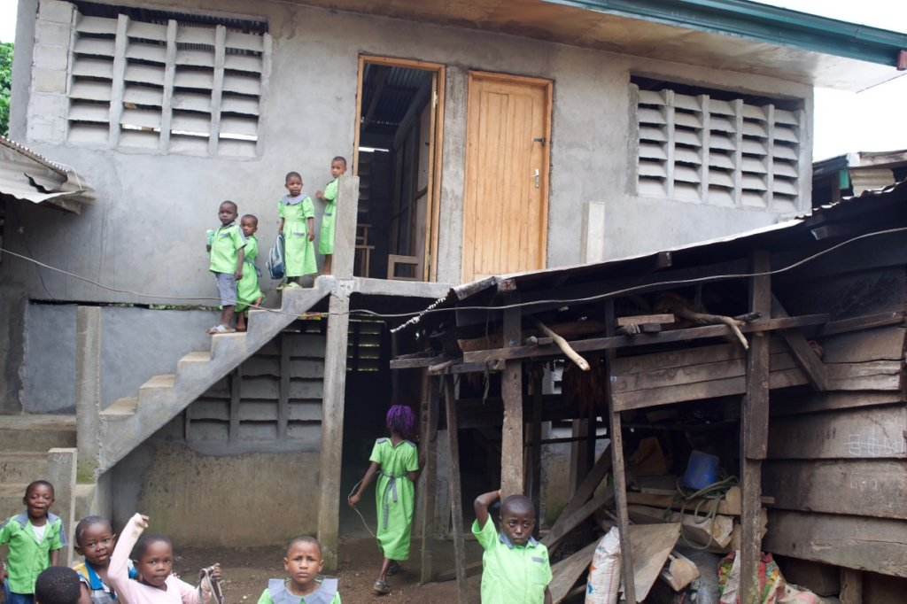 Build a new classroom for 48 children