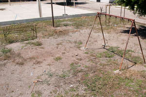 Swing-set...with no swings