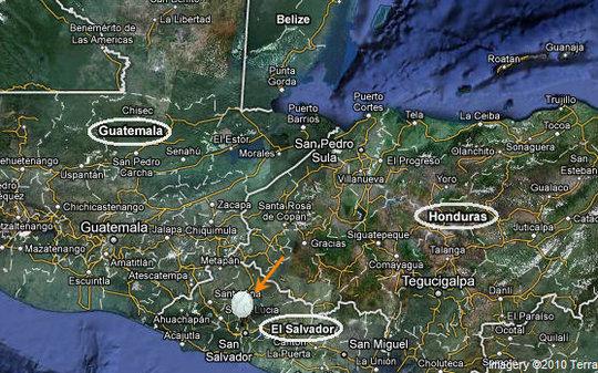 Map of El Zapote