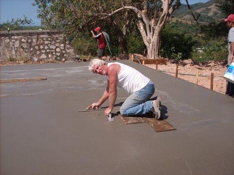 Foundation finishing