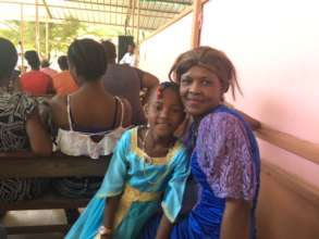 Patient with her daughter