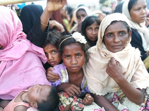 Over 1 million refugees in Bangladesh
