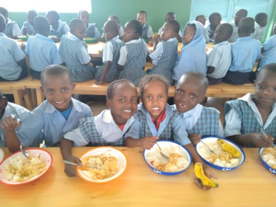 A warm meal is a SMILE in the making!