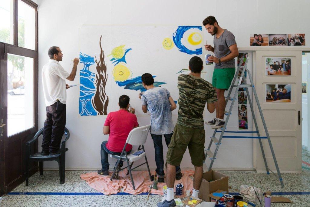 The E-HUB Leros: Prepare Refugees for Integration