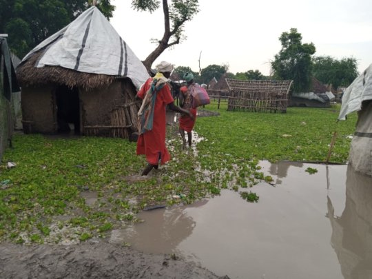Floods causing insecurity.