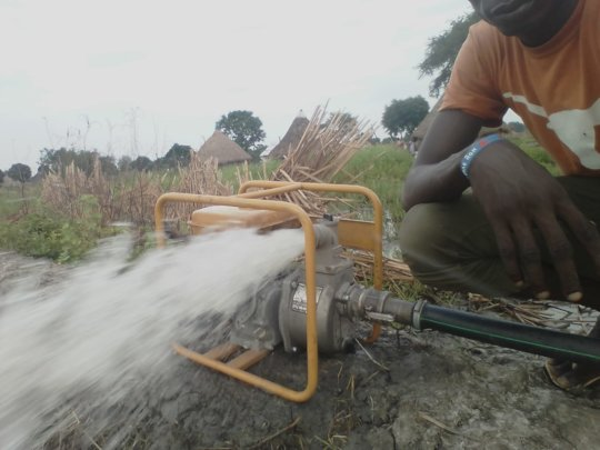 Giving A Helping Hand with Water Pumps