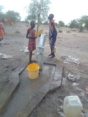Life changing and life saving water.