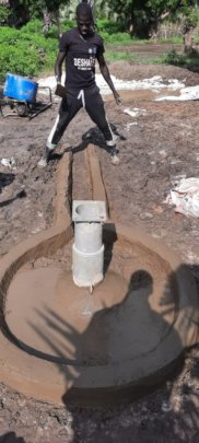 One of three new boreholes, Toch.