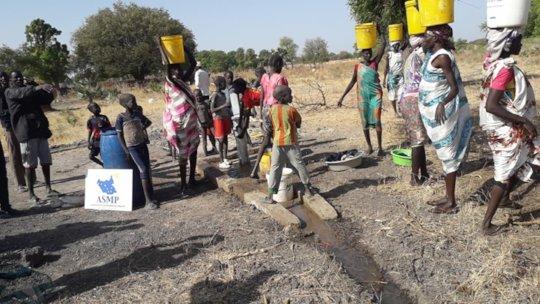 Villagers of Dhoreak, South Sudan.