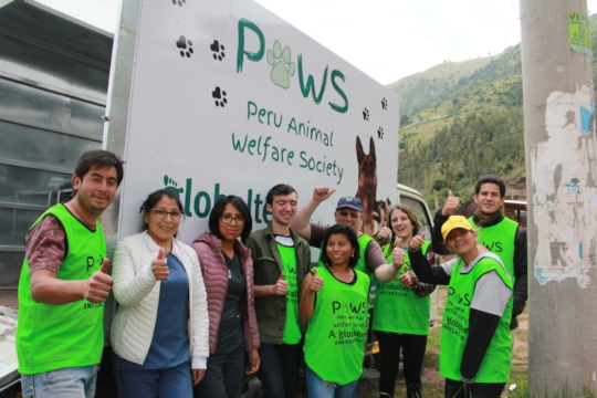 Vets, Volunteers, & Staff at our first campaign!