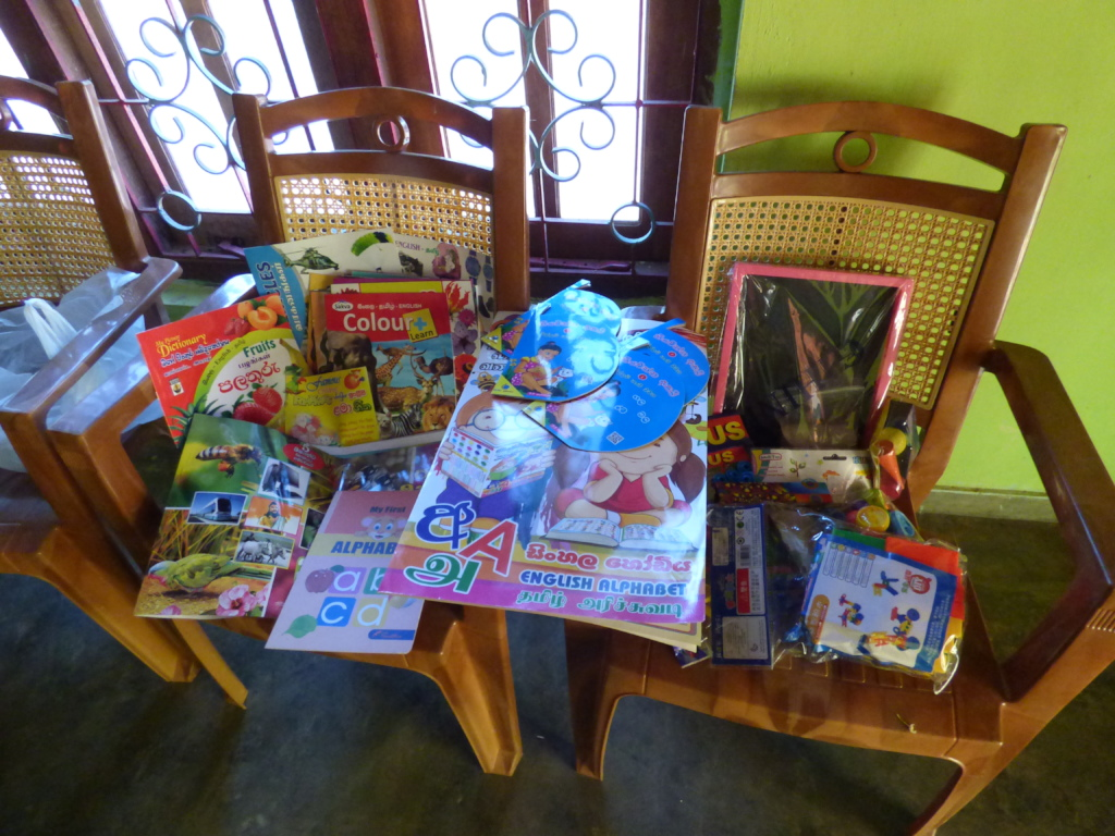Sponsored books and supplies.