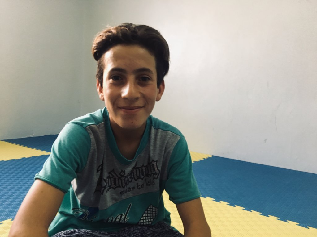 Omar, 17, from Sareeh North Jordan