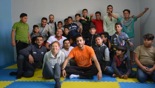 Irbid host community, North Jordan