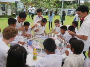 Playing Cambodian Ecosystems the Board Game