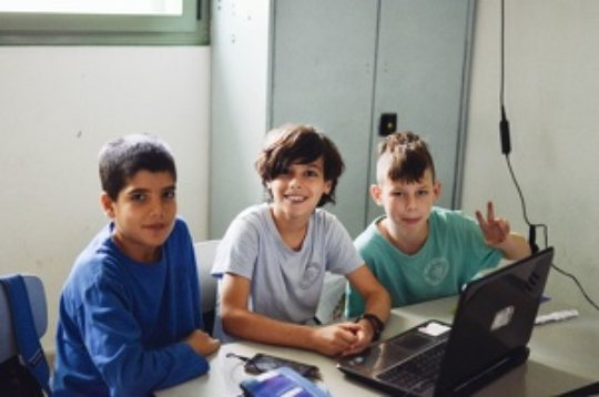 Binational School for Jewish and Palestinian kids