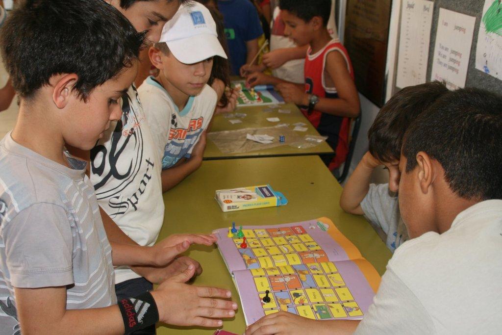 Playing in English