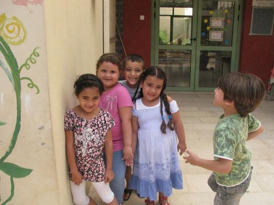Caroline, Yaara, Ayman and Ahmad