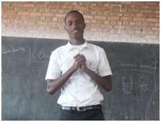 Alain Divin HAKIZIMANA , leader of Peace Club